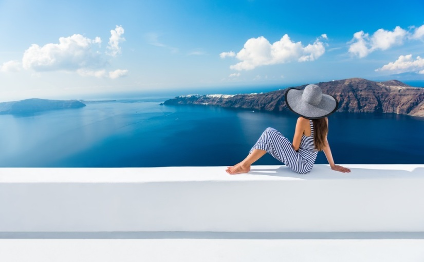 Landscape Travel picture of Santorini